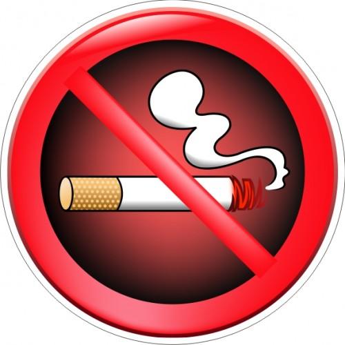 Табела или стикер забранено Пушенето модел 24113