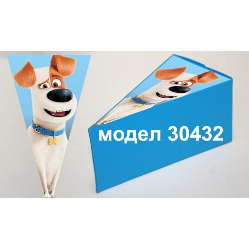 Парченце от Хартиена  торта  Модел 30432 не сглобена синя кутийка с картинка от Сами в Къщи