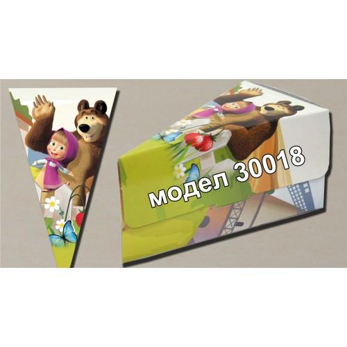 Парченце от Хартиена торта Модел 30018 не сглобени