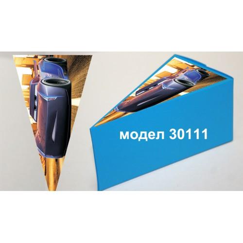 Парченце от Хартиена  торта с украса колите по избор Модел 30111