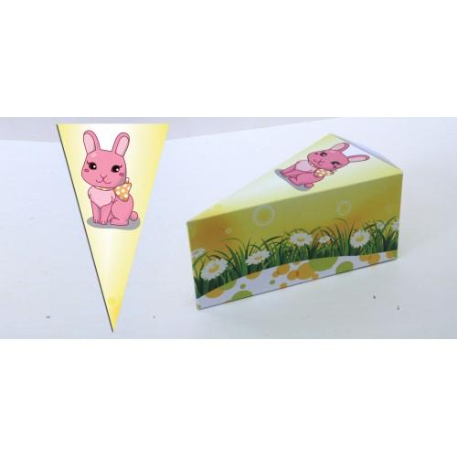 Парченце от Хартиена торта с украса Любими Животни Модел 30144 зайче