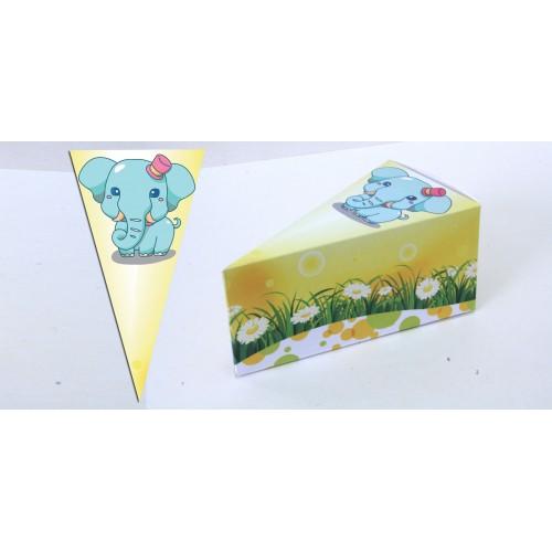 Парченце от Хартиена торта с украса Любими Животни Модел 30146 слонче