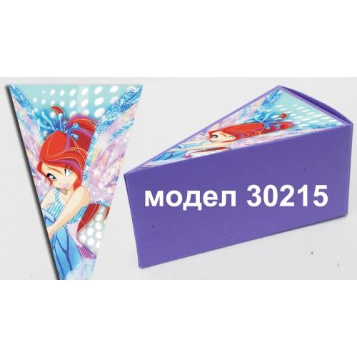 Парченце от Хартиена  торта с украса  по избор Модел 30215