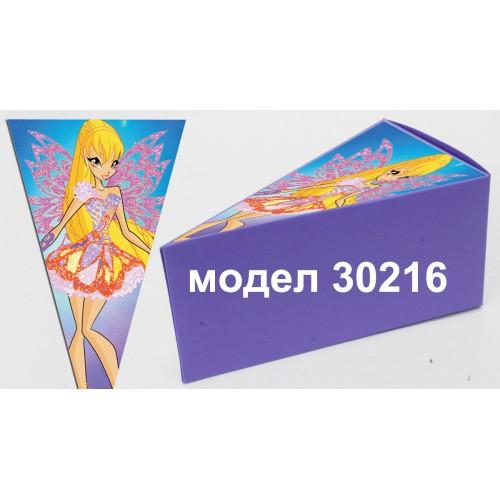 Парченце от Хартиена  торта с украса по избор Модел 30216
