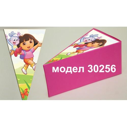Парченце от Хартиена  торта с украса по избор Модел 30256