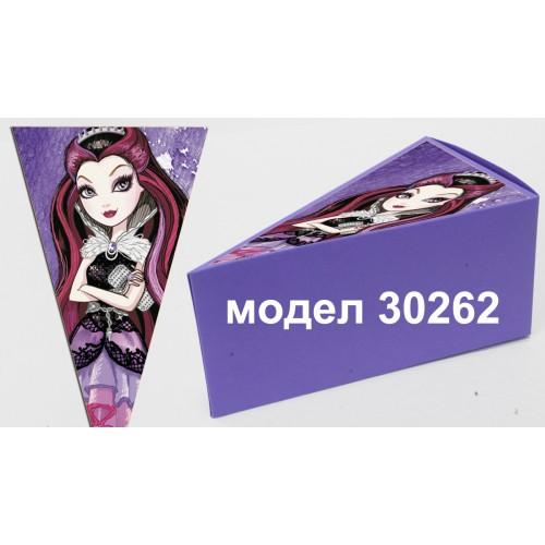Парченце от Хартиена  торта с украса по избор Модел 30262