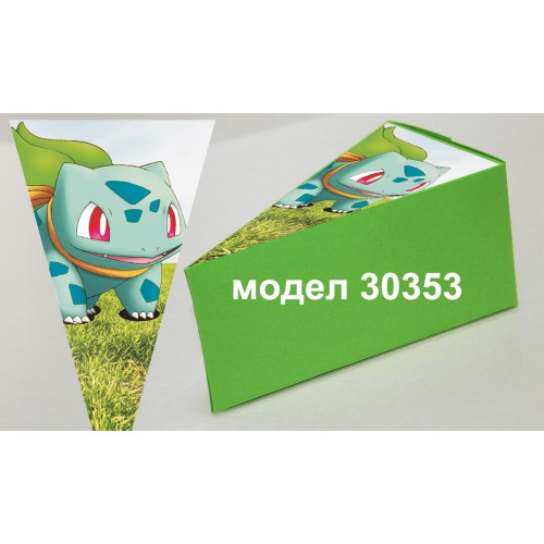 Парченце от Хартиена  торта с украса по избор Модел 30353