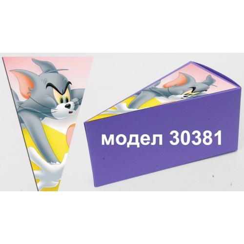 Парченце от Хартиена  торта с украса по избор Модел 30381