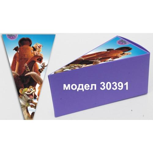 Парченце от Хартиена  торта с украса по избор Модел 30391