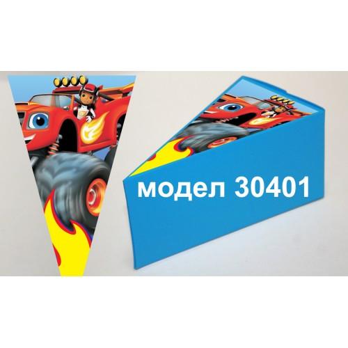 Парченце от Хартиена  торта с украса  по избор Модел 30401