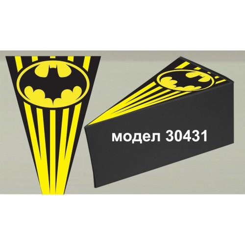 Парченце от Хартиена  торта с украса по избор Модел 30431
