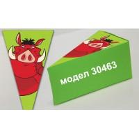 Парченце от Хартиена торта модел 30463 не сглобена зелена кутийка с картинка